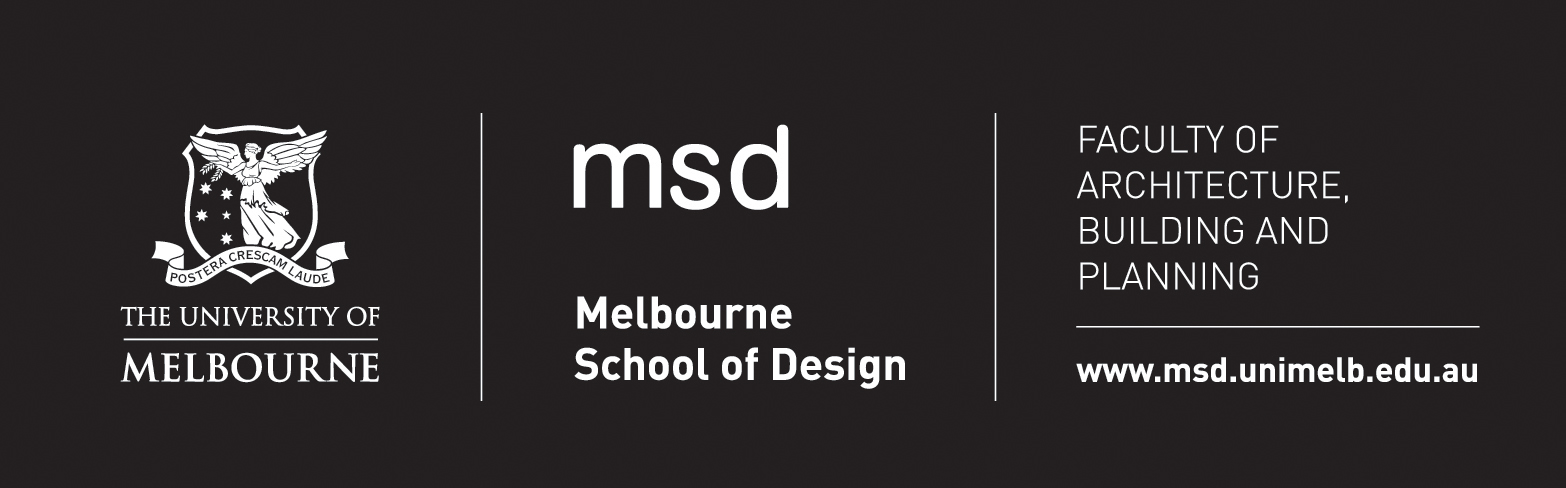 msd with faculty logo white on black
